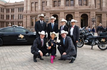 Abigail Arias Honorary Texas Ranger